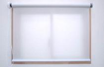 ロールスクリーン(ロールカーテン)不燃ターポリンタイプ
