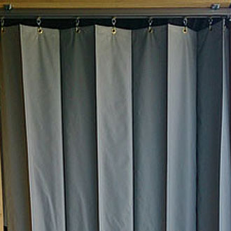 ジャバラビニールカーテン ターポリン