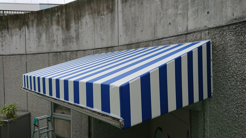 デザインテント(日よけ・雨よけテント)張替え/修理