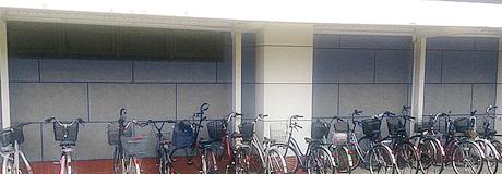 自転車置き場・屋根/駐輪場テント